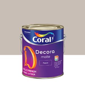 Tinta Acrílica Fosca Premium Decora Cascalho 3,6L Coral