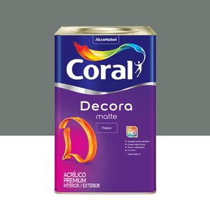Tinta Acrílica Fosca Premium Decora Cimento Queimado 18L Coral