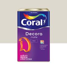 Tinta Acrílica Fosca Premium Decora Gelo 18L Coral