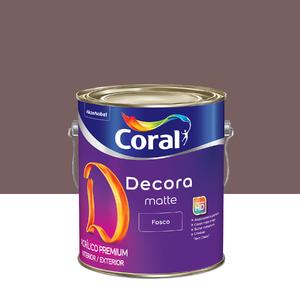 Tinta Acrílica Fosca Premium Decora Licor de Ameixa 3,6L Coral