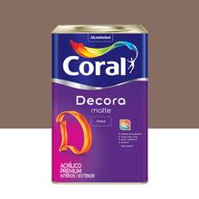 Tinta Acrílica Fosca Premium Decora Saibro 18L Coral