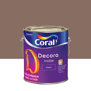 Tinta Acrílica Fosca Premium Decora Saibro 3,6L Coral