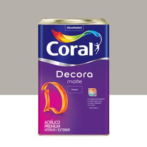 Tinta Acrílica Fosca Premium Decora Zepelim 18L Coral