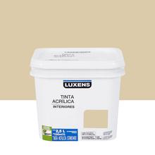 Tinta Acrílica Fosca Standard Algodão Crú 2,5L Luxens