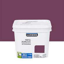 Tinta Acrílica Fosca Standard Ameixa 2,5L Luxens
