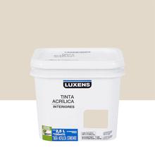 Tinta Acrílica Fosca Standard Areia 2,5L Luxens