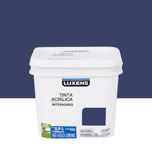 Tinta Acrílica Fosca Standard Azul Escuro 2,5L Luxens