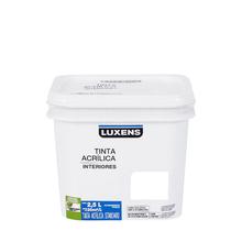 Tinta Acrílica Fosca Standard Branco 2,5L Luxens