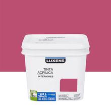 Tinta Acrílica Fosca Standard Carmin 2,5L Luxens