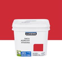 Tinta Acrílica Fosca Standard Escarlate 2,5L Luxens