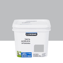 Tinta Acrílica Fosca Standard Feltro Cinza 2,5L Luxens
