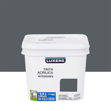 Tinta Acrílica Fosca Standard Grafite 2,5L Luxens