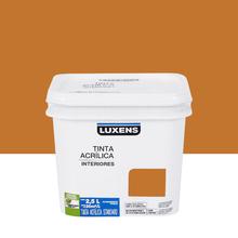 Tinta Acrílica Fosca Standard Laranja Queimado 2,5L Luxens