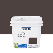 Tinta Acrílica Fosca Standard Marrom Terra 2,5L Luxens