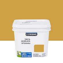 Tinta Acrílica Fosca Standard Mostarda 2,5L Luxens