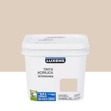 Tinta Acrílica Fosca Standard Nude 2,5L Luxens