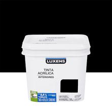Tinta Acrílica Fosca Standard Preto 2,5L Luxens