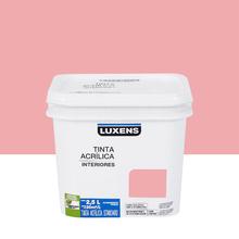 Tinta Acrílica Fosca Standard Quartzo Rosa 2,5L Luxens