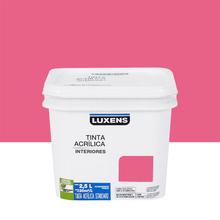 Tinta Acrílica Fosca Standard Rosa Pink 2,5L Luxens