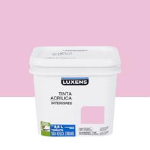 Tinta Acrílica Fosca Standard Rosa Romântico 2,5L Luxens
