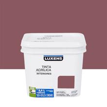Tinta Acrílica Fosca Standard Terra Roxa 2,5L Luxens