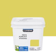 Tinta Acrílica Fosca Standard Toque Amarelo 2,5L Luxens