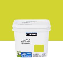Tinta Acrílica Fosca Standard Verde Limão 2,5L Luxens