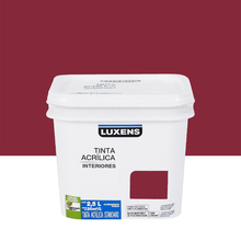 Tinta Acrílica Fosca Standard Vinho 2,5L Luxens