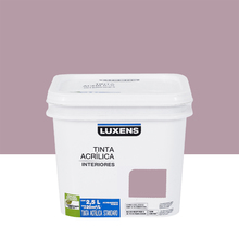 Tinta Acrílica Fosca Standard Violeta 2,5L Luxens