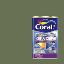 Tinta Acrílica Fosca Total S&C Premium Algas Profundas 18L Coral