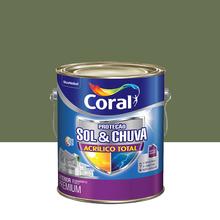 Tinta Acrílica Fosca Total S&C Premium Algas Profundas 3,6L Coral