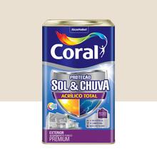 Tinta Acrílica Fosca Total S&C Premium Algodão Egípcio 18L Coral