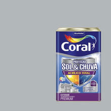 Tinta Acrílica Fosca Total S&C Premium Colar Prata 18L Coral