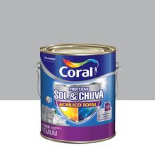 Tinta Acrílica Fosca Total S&C Premium Colar Prata 3,6L Coral