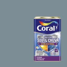 Tinta Acrílica Fosca Total S&C Premium Mergulho Sereno 18L Coral