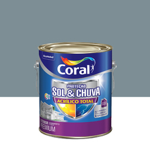 Tinta Acrílica Fosca Total S&C Premium Mergulho Sereno 3,6L Coral