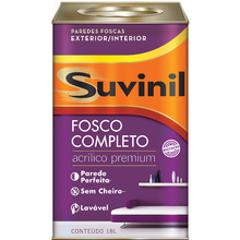 Tinta Acrílica Fosco Premium Pérola  18L