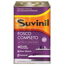 Tinta Acrílica Fosco Completo Premium Branco Neve 18L Suvinil