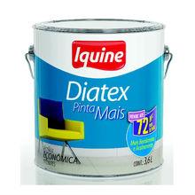 Tinta Acrilíca Fosco Diatex Pinta Mais 3,6L Branco Gelo Iquine
