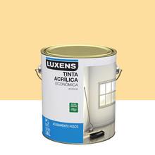 Tinta Acrílica Fosco Econômica Amarelo Canário 3,6L Luxens