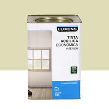 Tinta Acrílica Fosco Econômica Areia 18L Luxens