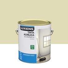 Tinta Acrílica Fosco Econômica Areia 3,6L Luxens
