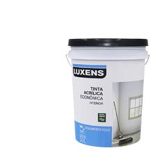 Tinta Acrílica Fosco Econômica Branco 20L Luxens