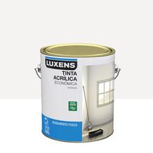 Tinta Acrílica Fosco Econômica Branco 3,6L Luxens