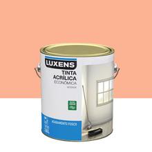 Tinta Acrílica Fosco Econômica Cenoura 3,6L Luxens