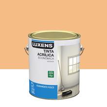 Tinta Acrílica Fosco Econômica Cromo Suave 3,6L Luxens