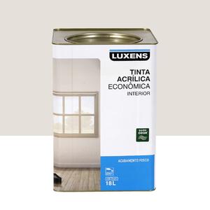 Tinta Acrílica Fosco Econômica Gelo 18L Luxens