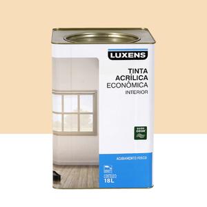 Tinta Acrílica Fosco Econômica Marfim 18L Luxens