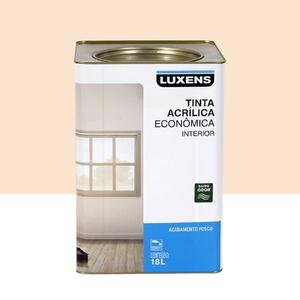 Tinta Acrílica Fosco Econômica Pérola 18L Luxens
