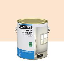 Tinta Acrílica Fosco Econômica Pérola 3,6L Luxens